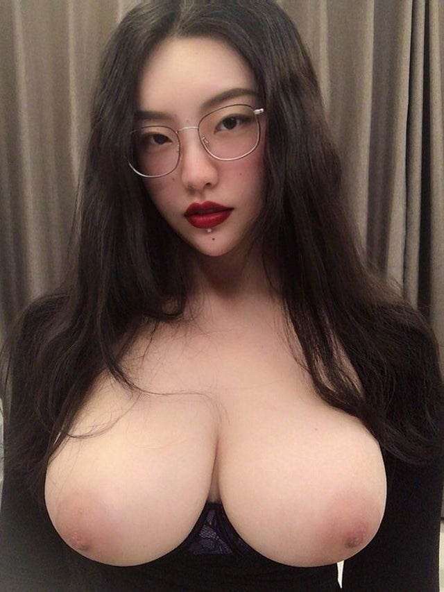 Girls with glasses and cum