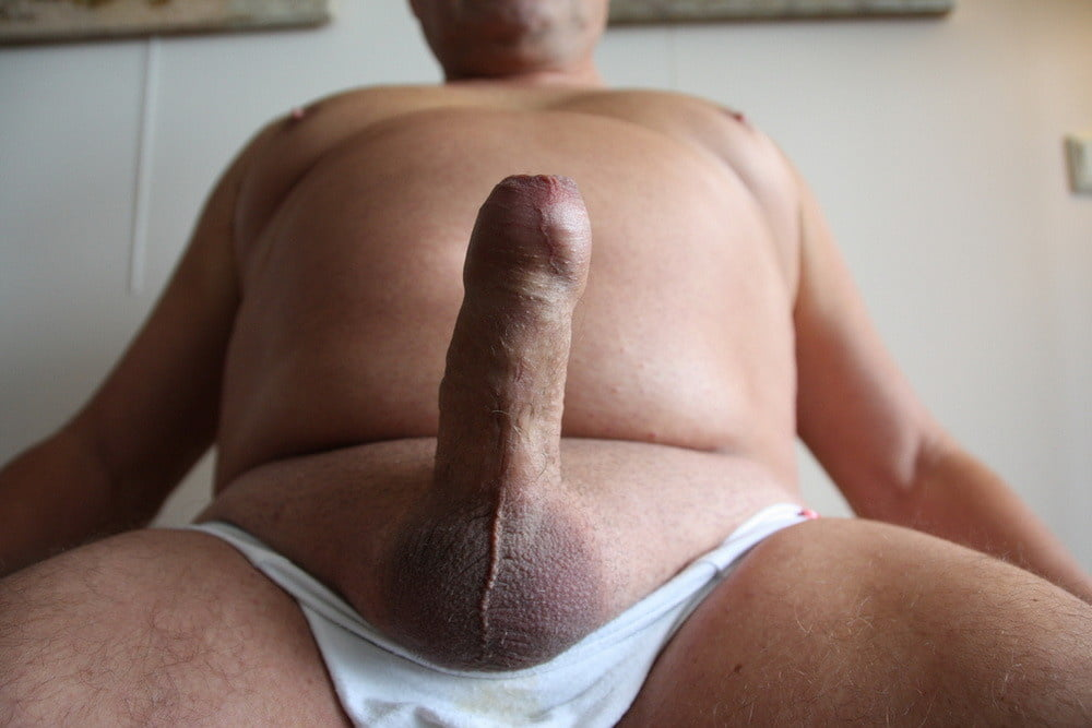 He has a really fat cock