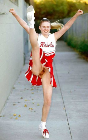 wet pantyhose cheerleader