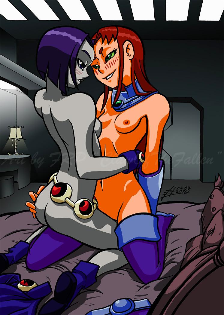 Lesbian Teen Titans Drawing Free Image