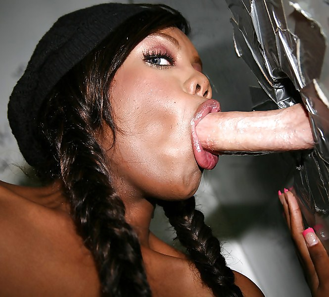Ebony Sucking Dick Lips