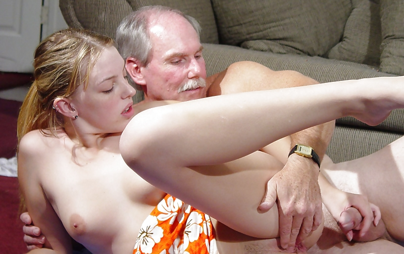 Dad and comrade's daughter having sex bed first time