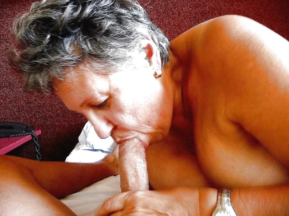 Black Grandma Sucking Dick