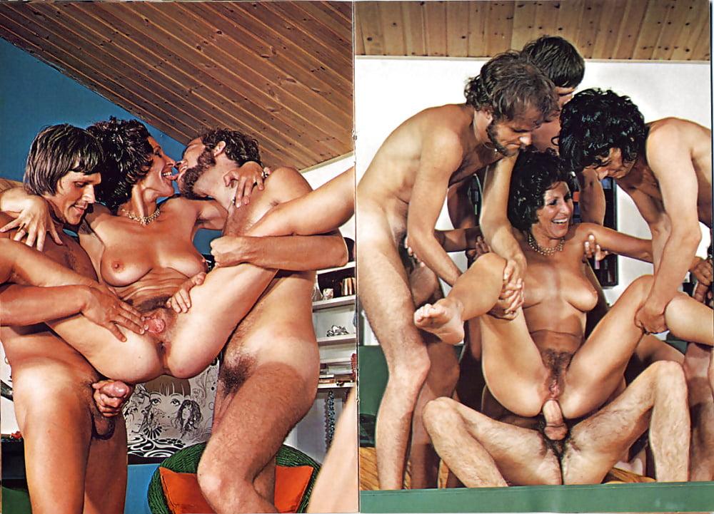 Порно ретро массовая групповуха, красавица сняла на видео свою мастурбацию