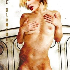 nackt Blanchett Cate Redbubble logo