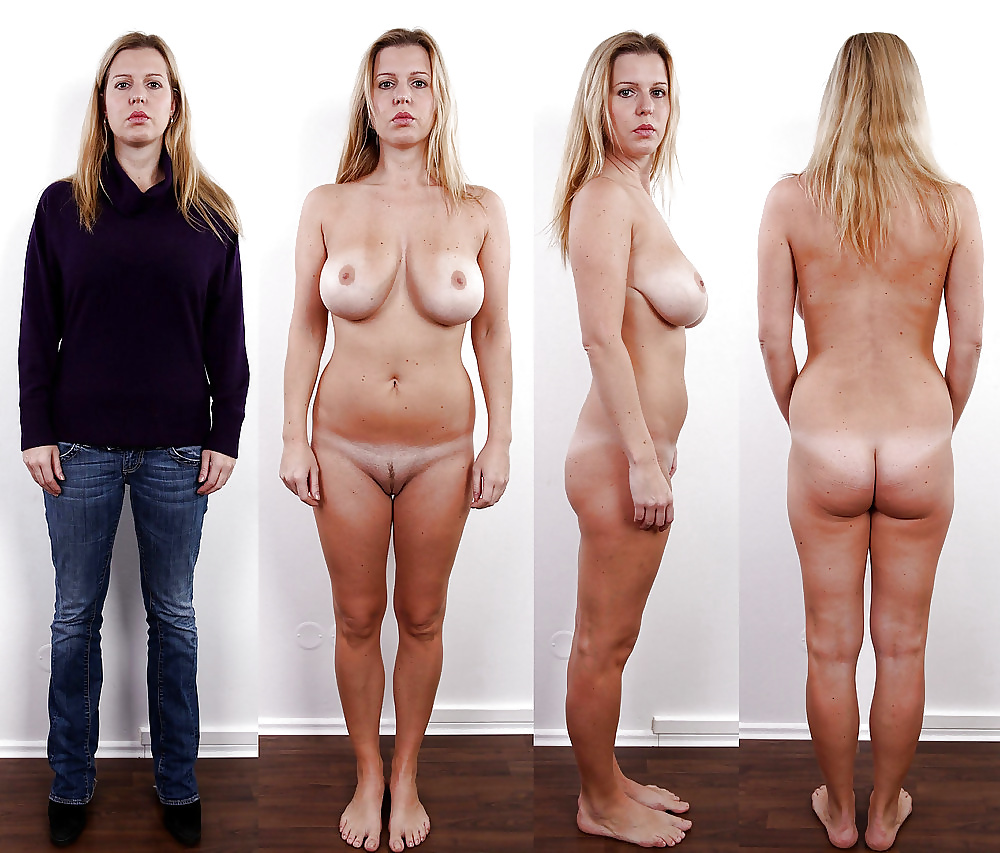 Photos show how people's expressions change when they're naked
