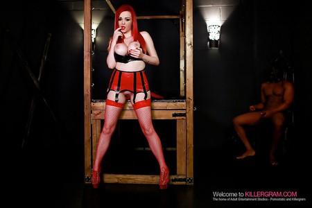 jasmine james redhead