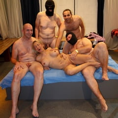 One Pussy Fits All Cocks At GroupBanged