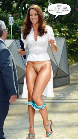 Topless Catherine Duchess Of Cambridge Nude HD