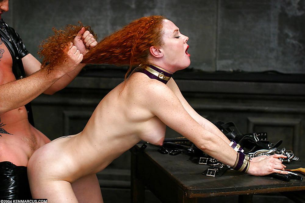 Hot Redhead Audrey Hollander In Some Hardcore Anal Bondage Shagging