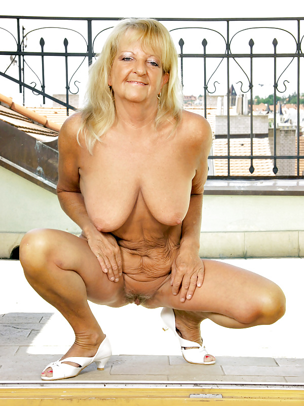 Granny hot boobs