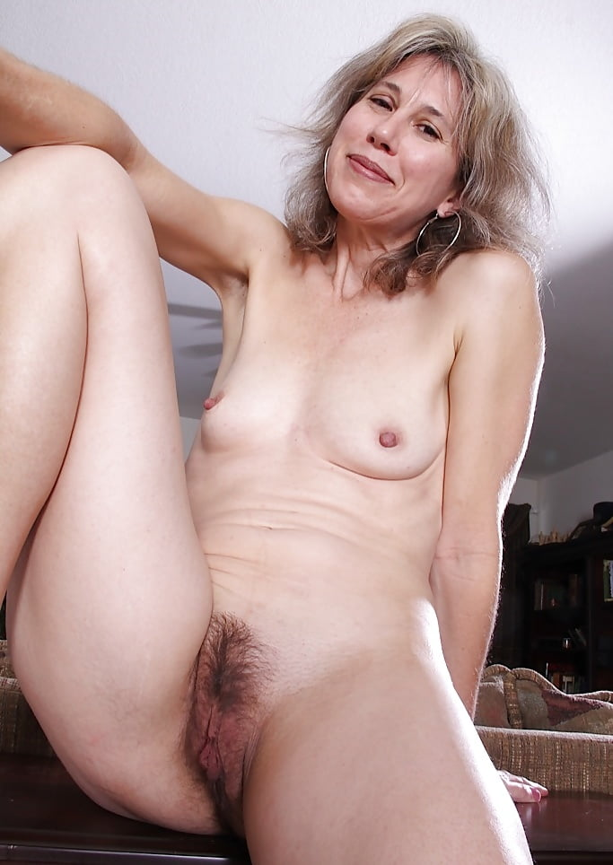 Nude hairy old lady