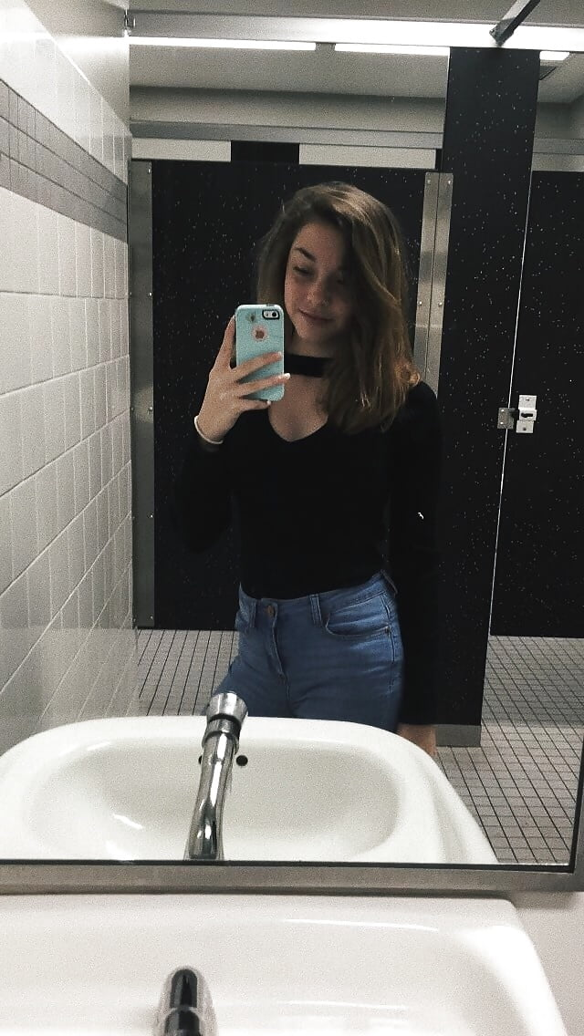 School bathroom sexy