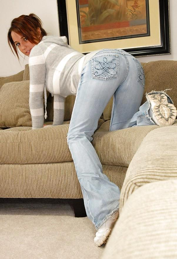 Mature in tight jeans pictures