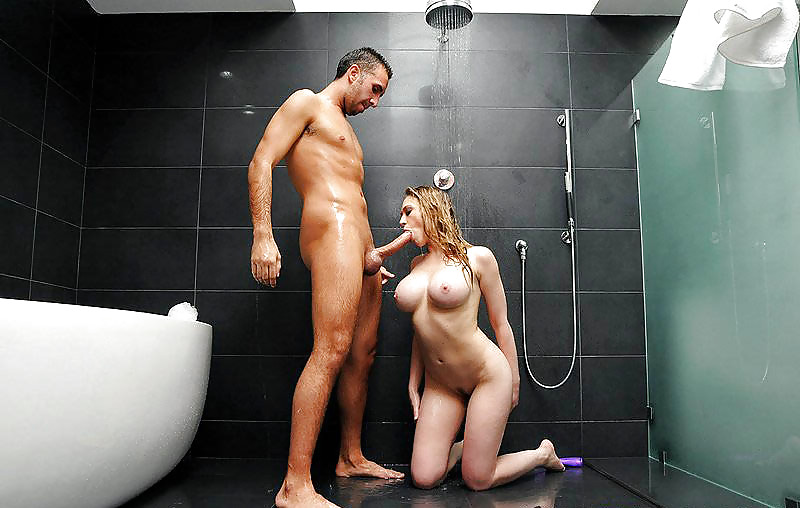 Sex in shower with hot ladies, hot wifey nude