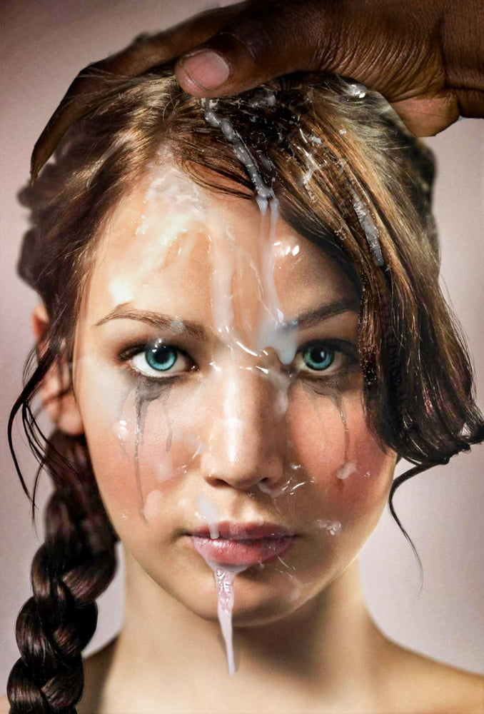 Jennifer Lawrence Interracial Fakes 6 - 13 Pics