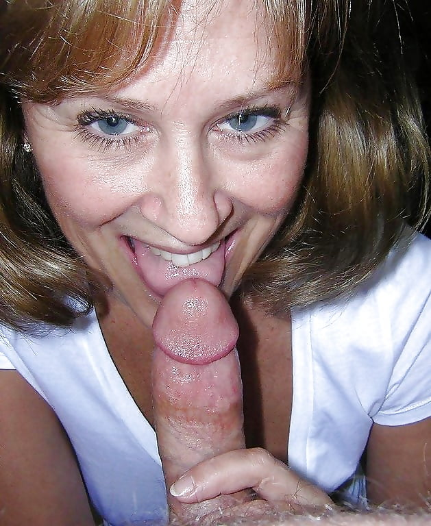 My friend's mom loves to suck my dick