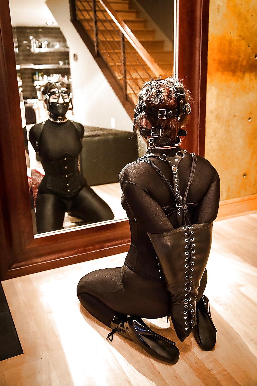 non-leather-bondage-brunette