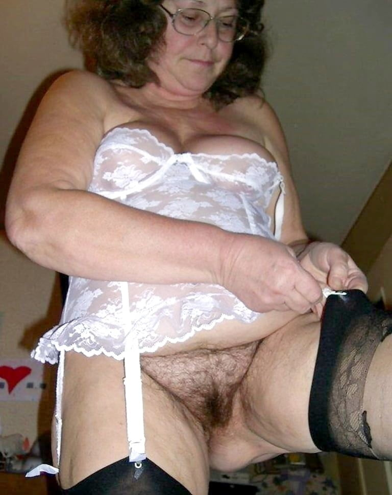 Mature women in girdles and nylons