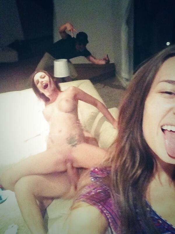 Hot porn love making selfie