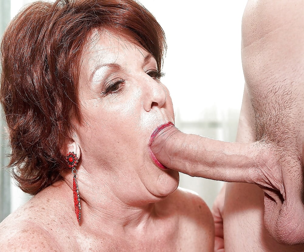 Older woman sucking young man pictures — photo 9