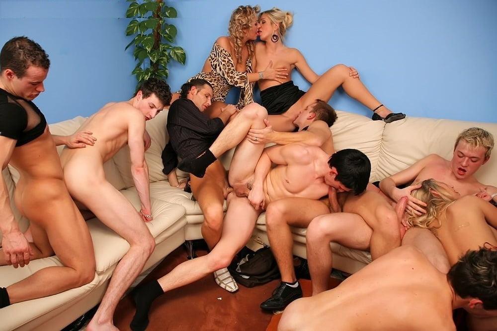Bisexual orgy photo