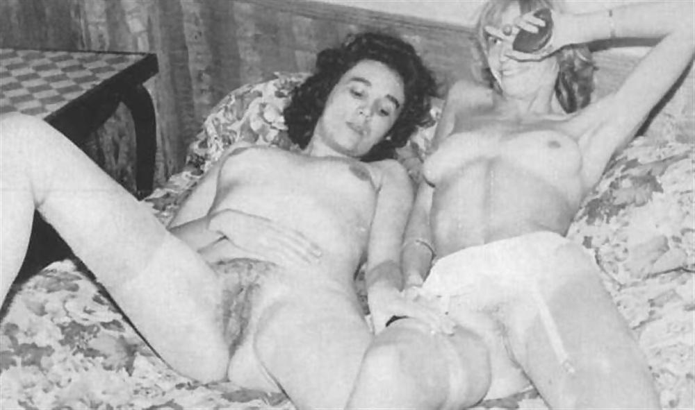Vintage Lesbian Series Five Vaginas Tushy 1