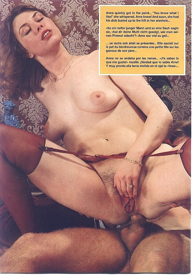 Vintage hairy anal sex