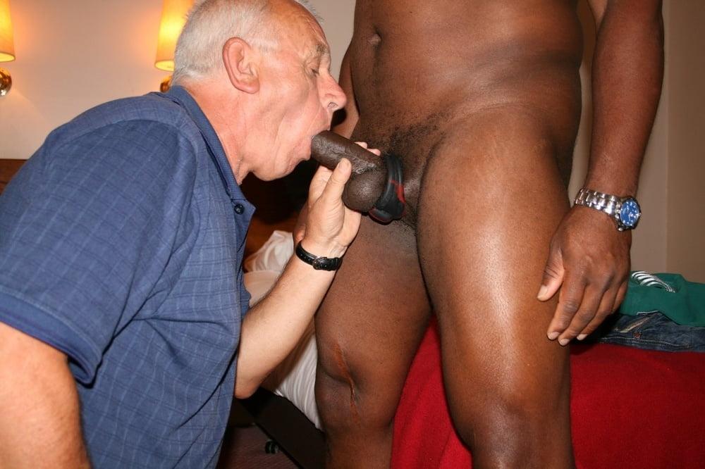Gay old black cock