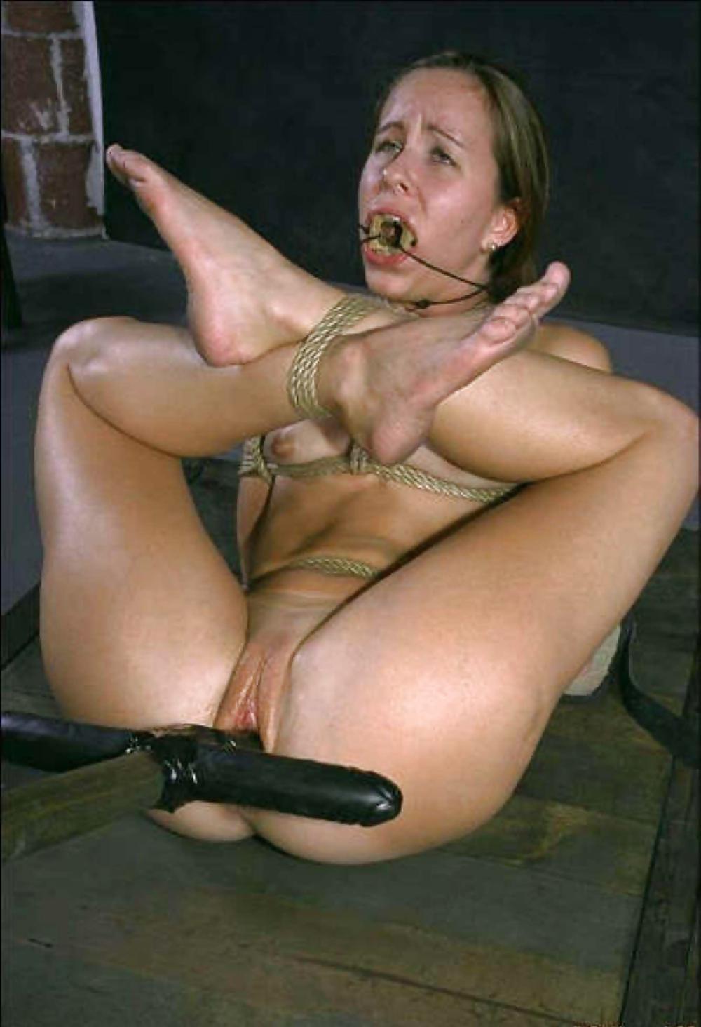 Секс в вагине связанная девушка — 5