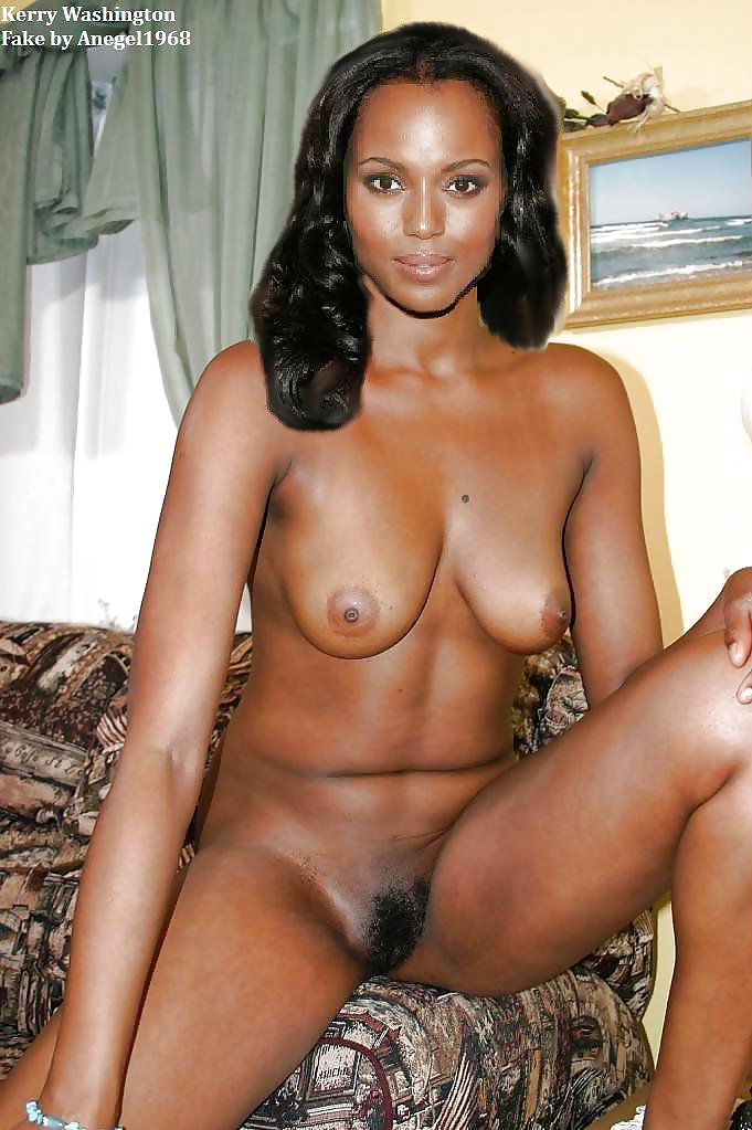 Naked pics of kerry washington