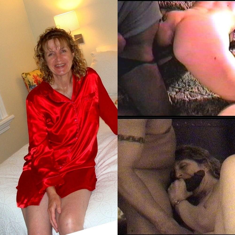 Hardcore whore wife having kinky threesome sex