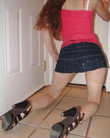 STEPH - Amateur Teen with silky Panties