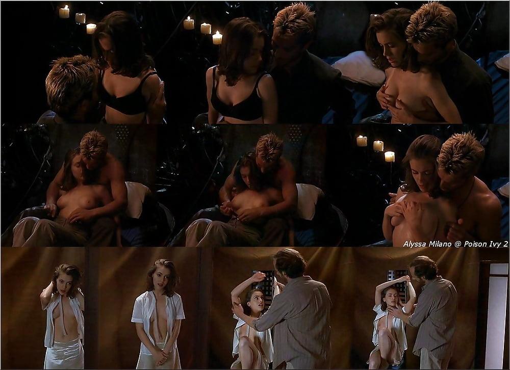 Naked Alyssa Milano In Embrace Of The Vampire Ancensored