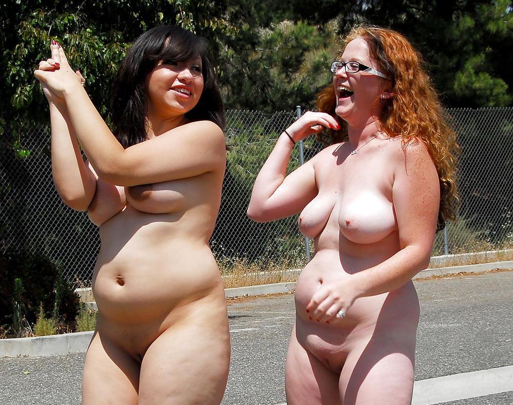 Mature slightly chubby girls nude