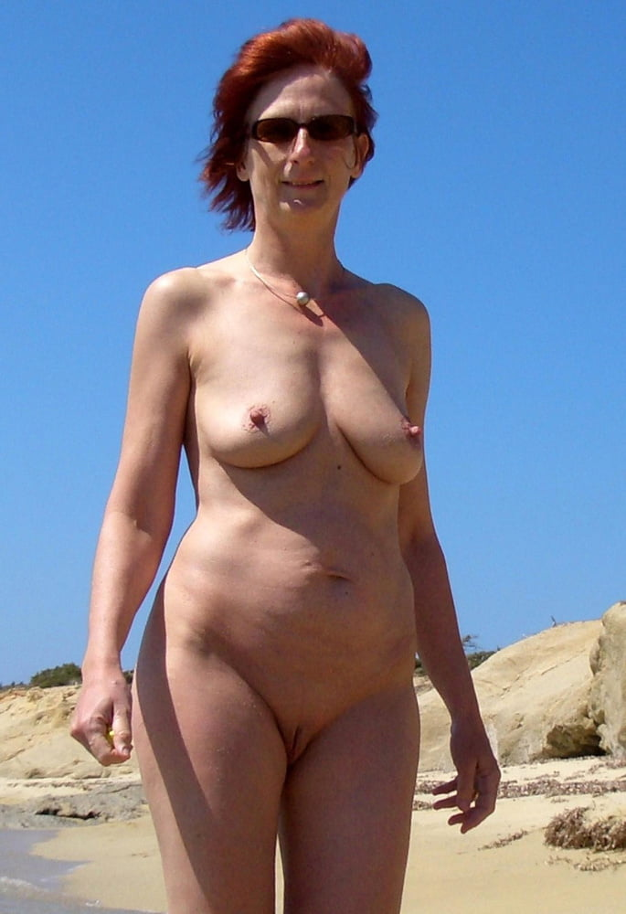 With young middle aged milf nudist girl