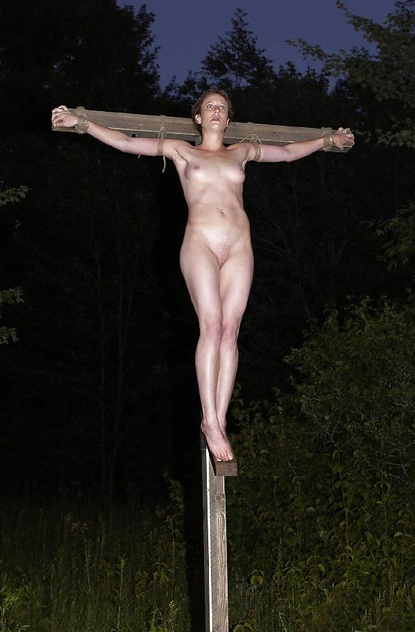 Crucified women nude pics