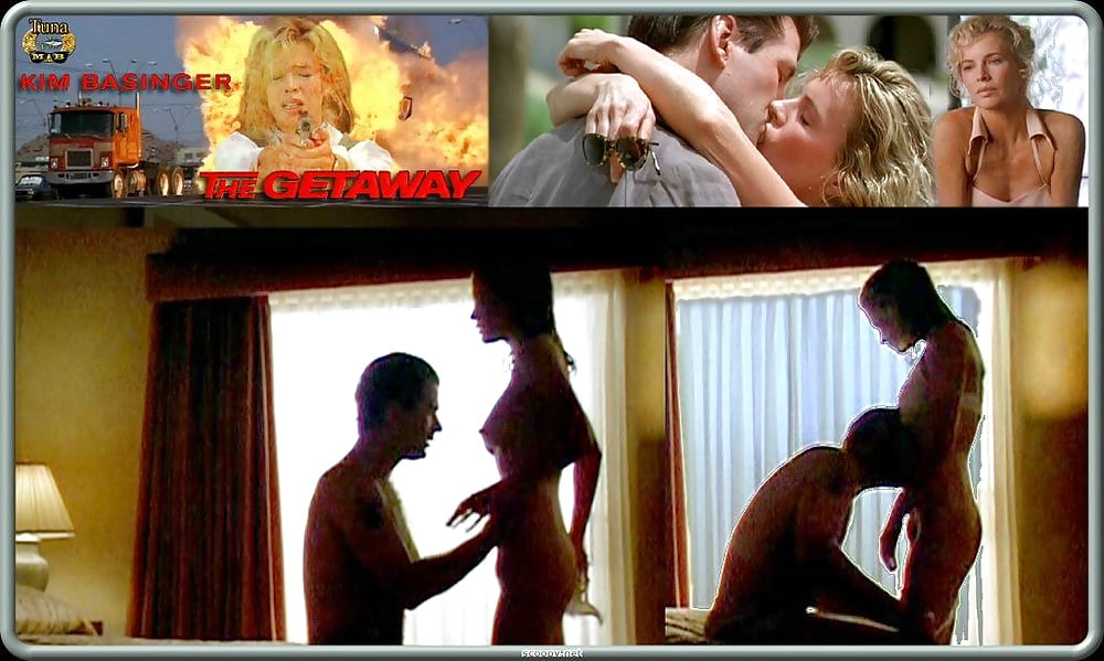 Celebrities kim basinger and alec baldwin get wet and steamy
