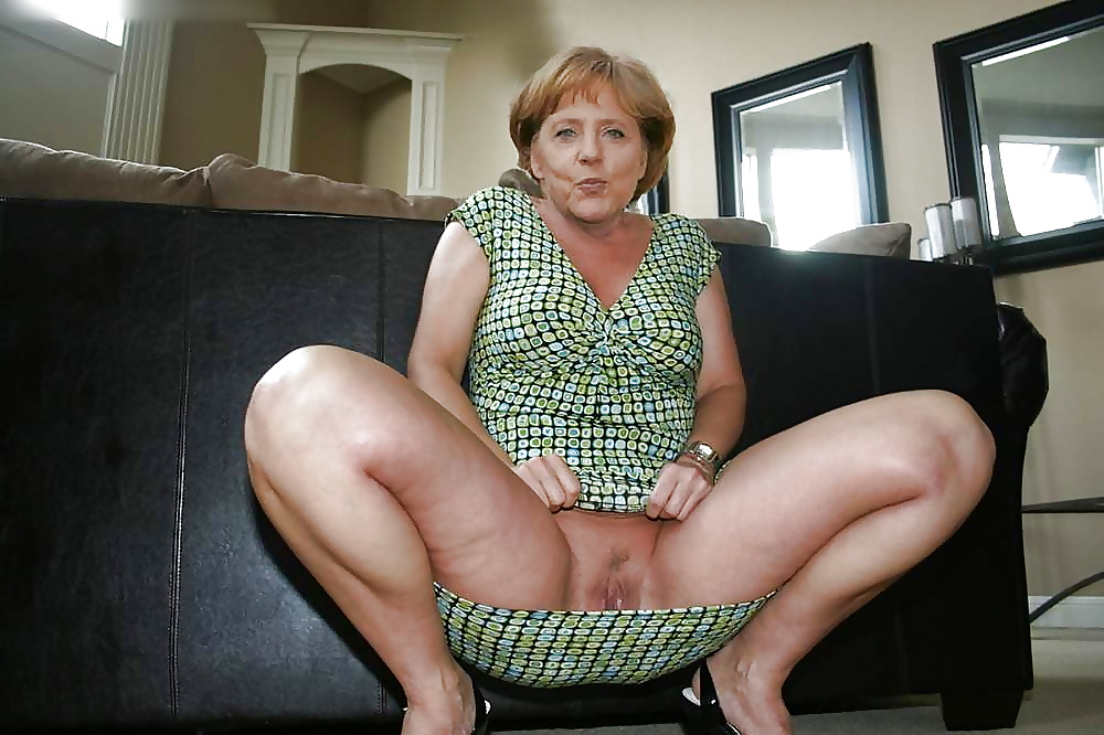 merkel nude photos
