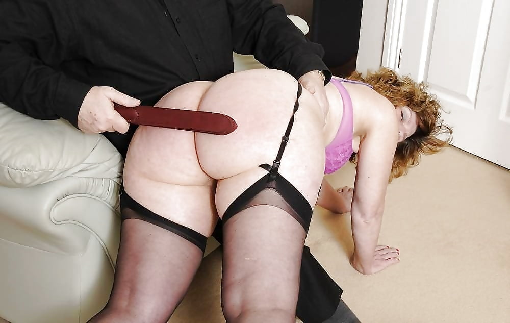 Pawg spanked