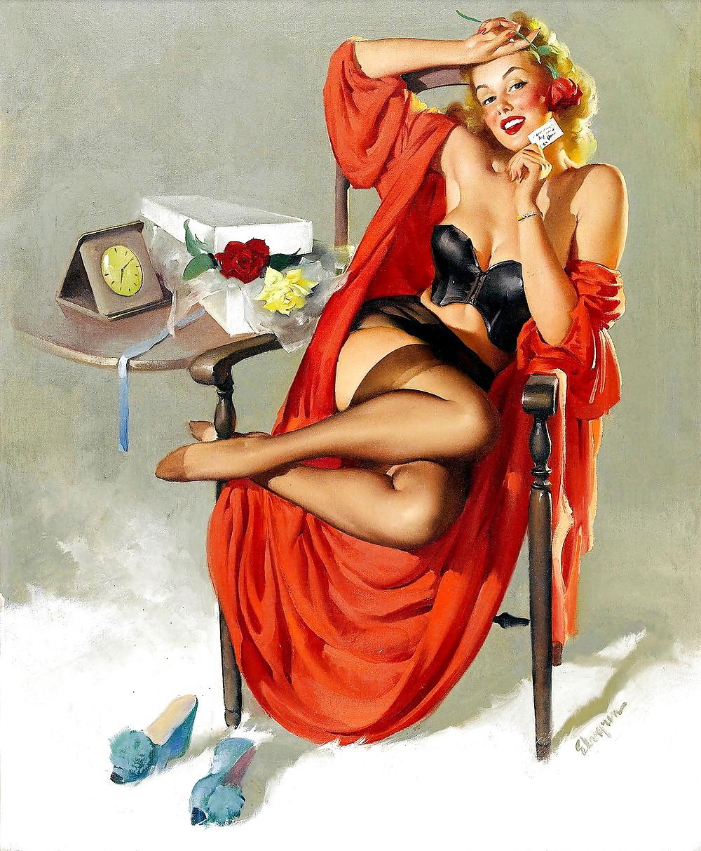 Открытки, открытка с обнаженной девушкой