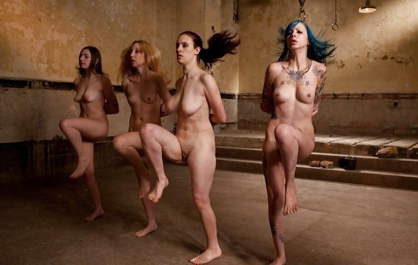 Naked wrestling women strip fight