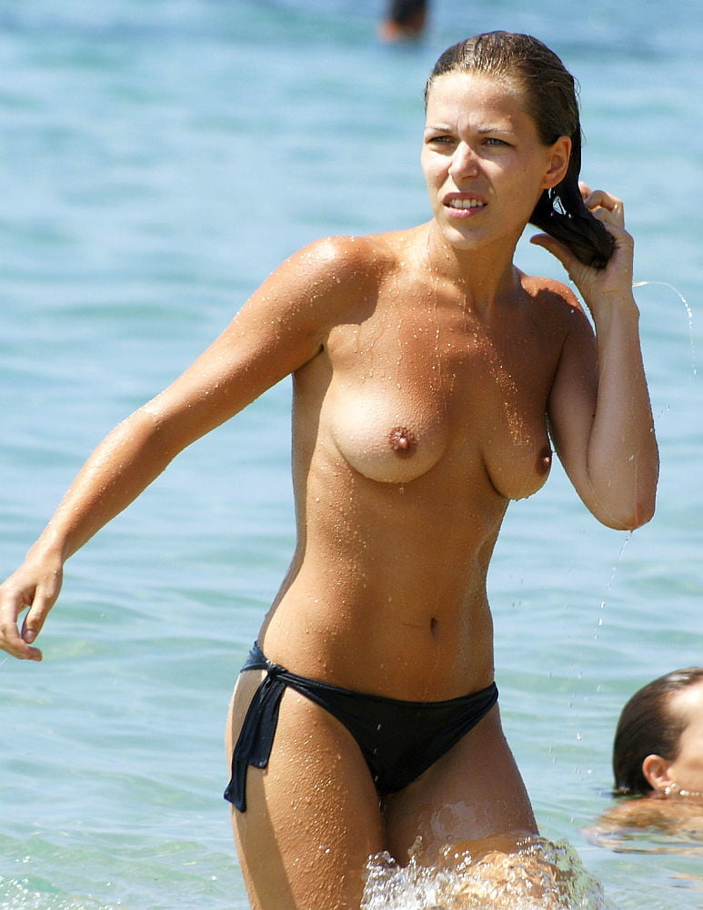 Topless women in skirts-3357