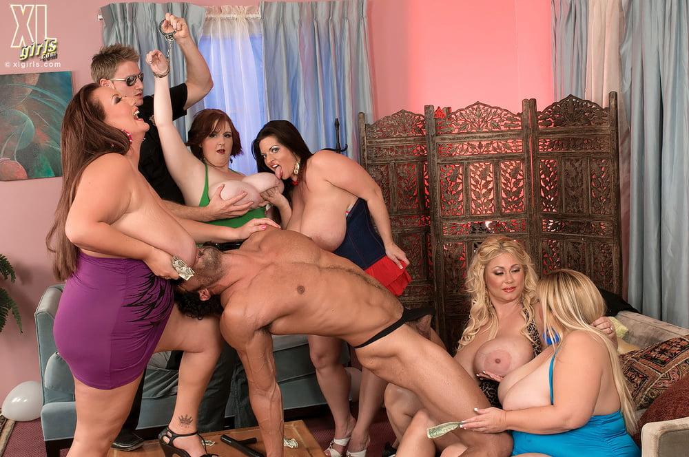 Голожопые тетки на порно вечеринке онлайн #8