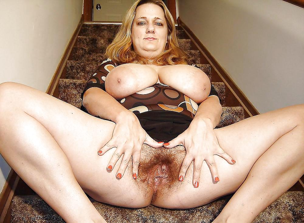 Hairy Mature Bbw Creampie