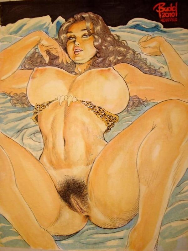 Зад девушке порно рисунки волосатых баб эротические реалити