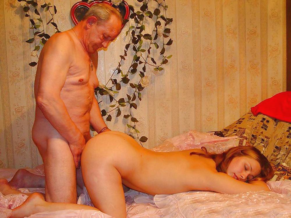 порно домашняя ебля со стариком - 4