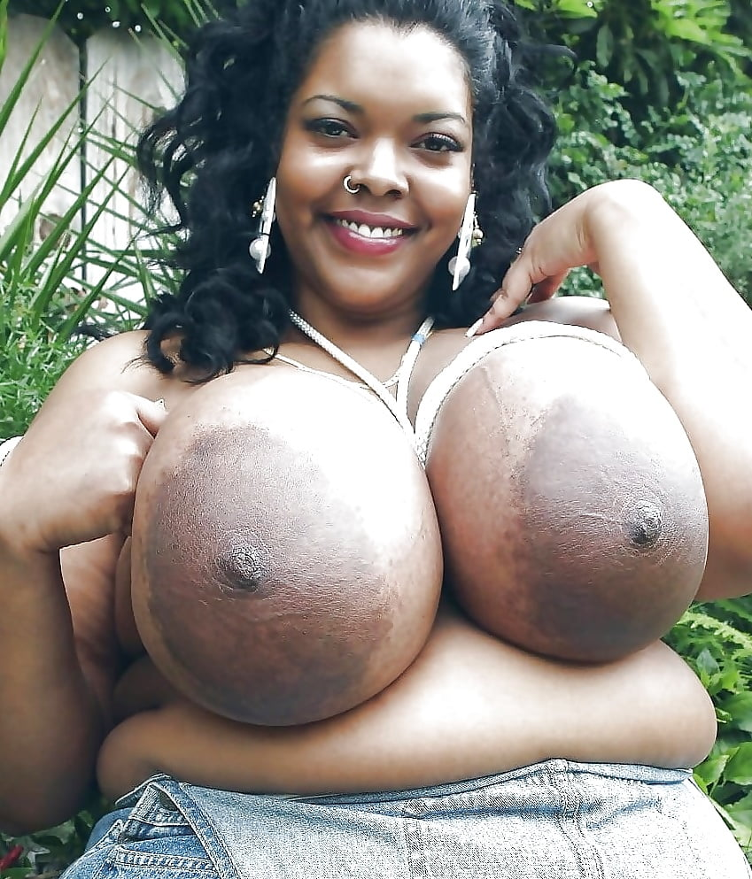 Fat black boobs nude