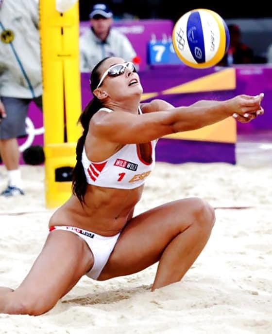 Sexy beach volleyball
