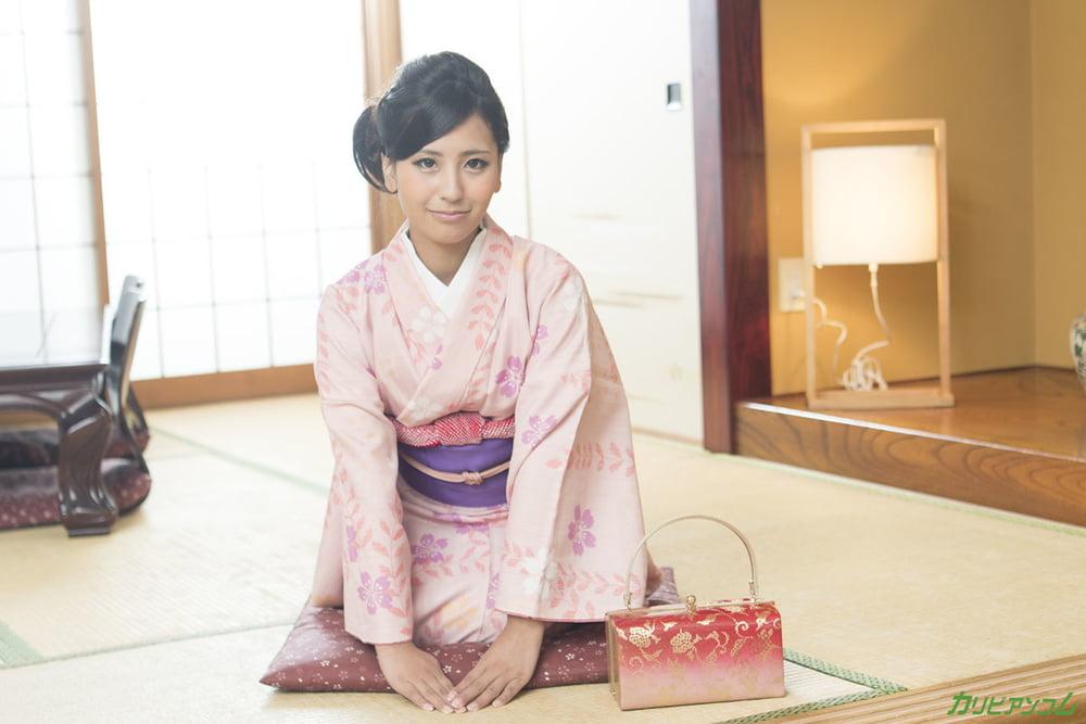 Honoka Suzunami :: Hardcore In Kimono - CARIBBEANCOM - 21 Pics